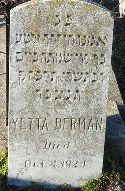 Yetta Berman