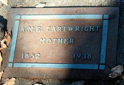 A M E Cartwright