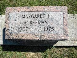 Margaret I Ackerman