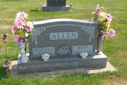 Frances E <i>Dzuryo</i> Allen