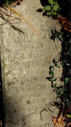 Mary Jane <i>Herndon</i> Beauchamp