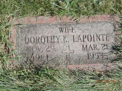 Dorothy Edna <i>Willette</i> Lapointe