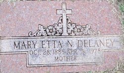 Mary Etta N. <i>Troutt</i> Delaney
