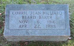 Corrie Jean <i>Hilliard</i> Beard/Baker