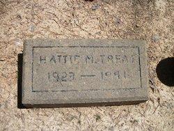 Hattie M Treat