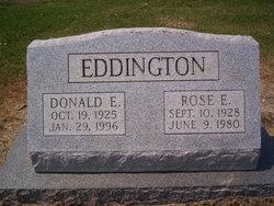 Rose Mae <i>Emrich</i> Eddington