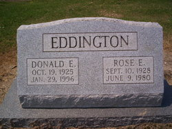 Donald Elworthy Eddington, I