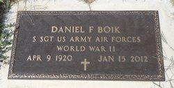 Daniel F. Boik