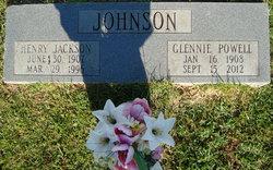 Glennie Beatrice <i>Powell</i> Johnson