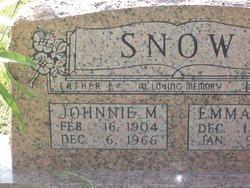 Johnny Melvin Snow
