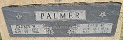 Effie May <i>Elliott</i> Palmer