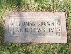 Thomas Brown Ben Andrews, IV