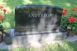 Marian V <i>Ellis</i> Anderson