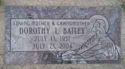 Dorothy <i>Nelson</i> Bailey