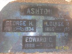 Edward D Ashton