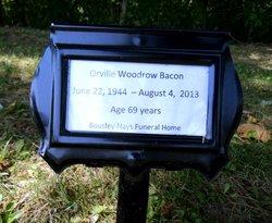 Orville Woodrow Woody Bacon