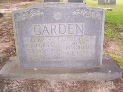 Lizzie L. <i>Asby</i> Carden