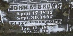Eliza L <i>Dillow</i> Brown