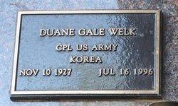 Duane Gale Welk