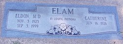 Dr Eldon Earl Elam