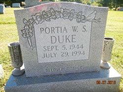 Portia W S Duke