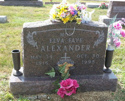 Elva Faye Alexander