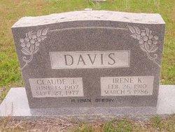 Emily Irene <i>Kennington</i> Davis