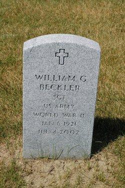 William G Bill Beckler
