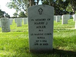 Harry J Adler