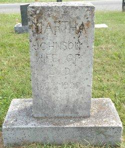 Martha <i>Johnson</i> Dillinger