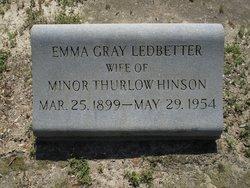 Emma Gray <i>Ledbetter</i> Hinson