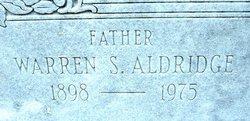 Warren Stone Aldridge