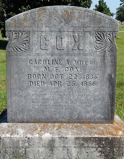 Caroline Y. <i>Pritchard</i> Cox