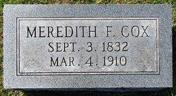 Meredith F. Cox