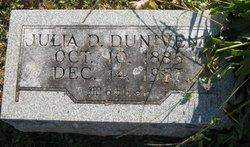 Julia D Dunivent
