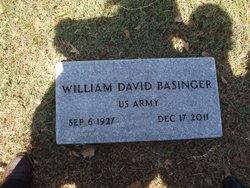 William David Bill Basinger