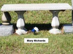 Mary Ann <i>Wright</i> Richards