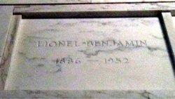Lionel J Benjamin