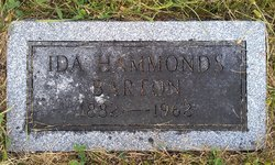 Ida <i>Hammonds</i> Barton