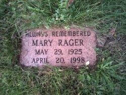 Mary Bella <i>VanBrocklin</i> Rager