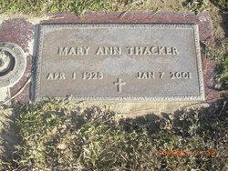 Ann <i>Clark</i> Thacker