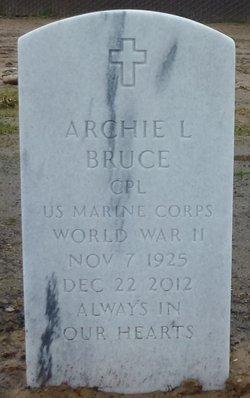 Archie L Bruce