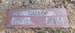 Walter L Gallop