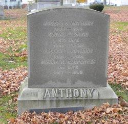 Fannie R. <i>Carpenter</i> Anthony