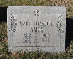 Mary Elizabeth Amos
