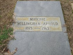 Matchie <i>Willingham</i> Arnold