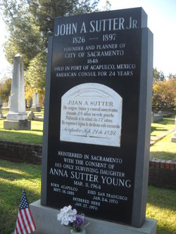 Anna <i>Sutter</i> Young