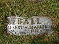 Marion J <i>Brunner</i> Ball