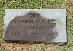 Kathryn <i>Cornett</i> Gayhart