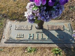 Julia A Hill